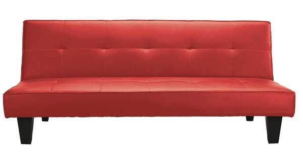 Divani e divani letto : DIVANO LETTO ECOP. CM.180 BURGUNDY