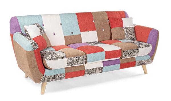 Divano Letto Patchwork : Divani e divani letto divano p patch h verde ar bi